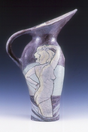 Large Pitcher with woman L.jpg (40793 bytes)